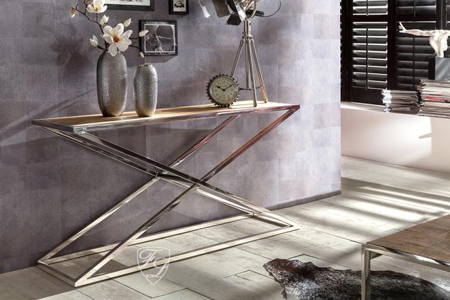 konsolentisch wandtisch chrom vintage holz modern sylt stil shabby chic tisch ebay. Black Bedroom Furniture Sets. Home Design Ideas