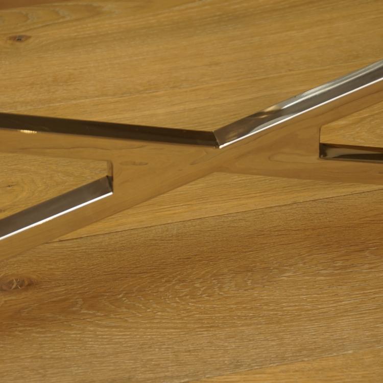 Wohnzimmertisch wohnen couchtisch glas metall modern art for Wohnzimmertisch glas metall