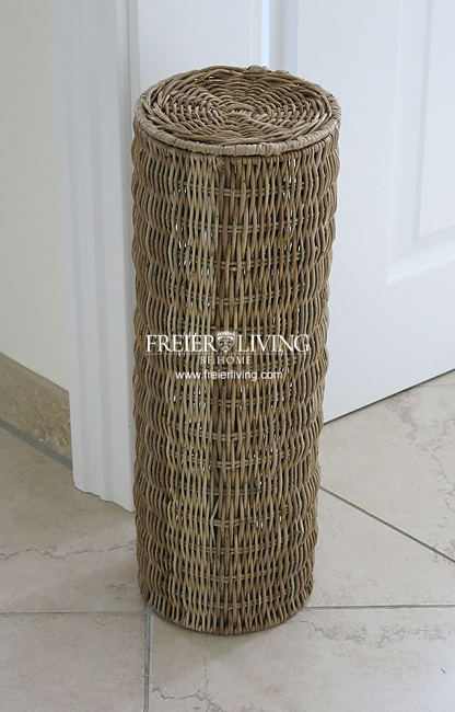 rattan korb rattankorb toilettenpapierhalter st nder bad wc deko shabby chic neu ebay. Black Bedroom Furniture Sets. Home Design Ideas