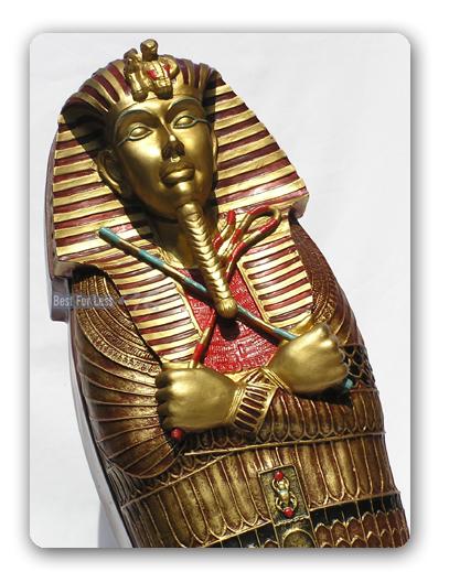 gypten sarkophag tutenchamun cd schrank m bel figur. Black Bedroom Furniture Sets. Home Design Ideas