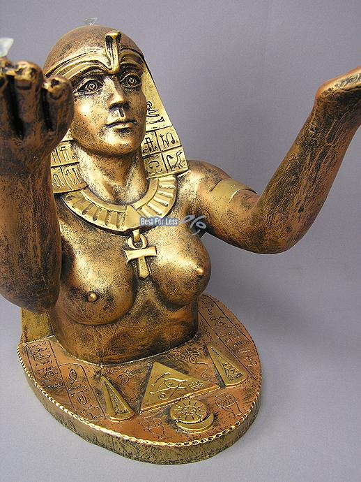 ÄGYPTISCHER TISCH WOHNZIMMERTISCH COUCHTISCH Nofretete