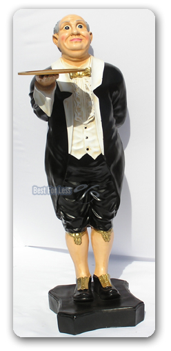 Butler frak werbeaufsteller figur visitenkarten halter for Butlers deko