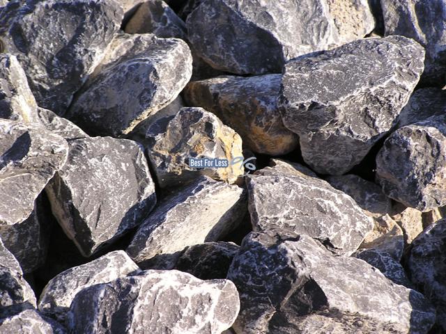 Natursteine f r gabione und steinkorb grau wei - Steingarten steine ...