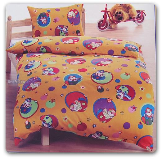 neu clowns bettw sche bettganitur lustig kissen lustig ebay. Black Bedroom Furniture Sets. Home Design Ideas