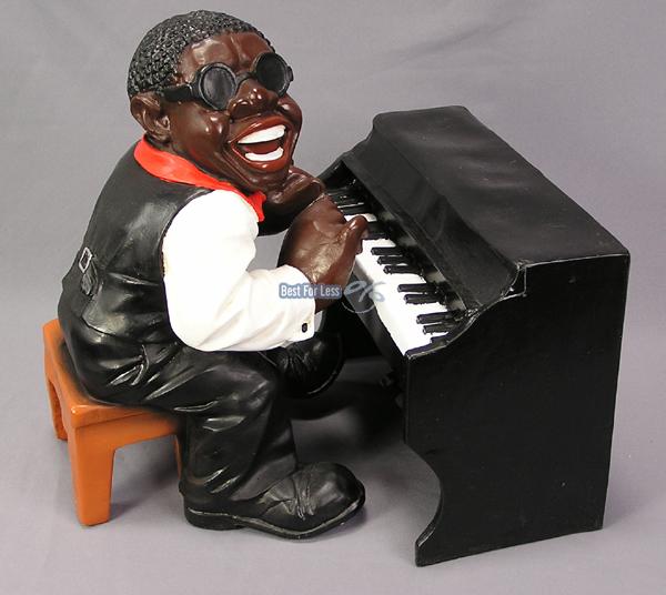 Musiker Band Jazz Swing Rock Deko Dekoration Bluse Figur