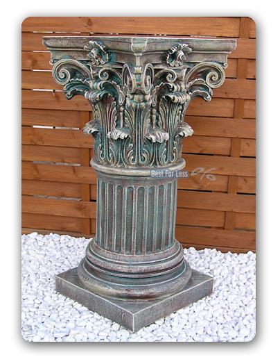 Dekos ule s ule antik stein op tisch beistelltisch wc ebay for Beistelltisch stein