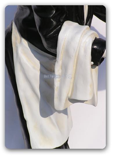 Haus butler buttler bar statue deko figur antik optik for Butlers deko