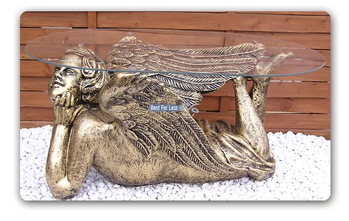 ENGEL ENGELS FIGUR WOHNZIMMERTISCH TISCH SHABBY CHIC