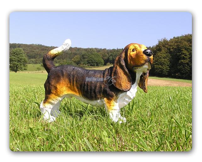 hush puppy basset hound hund figur skulptur deko fan ebay. Black Bedroom Furniture Sets. Home Design Ideas