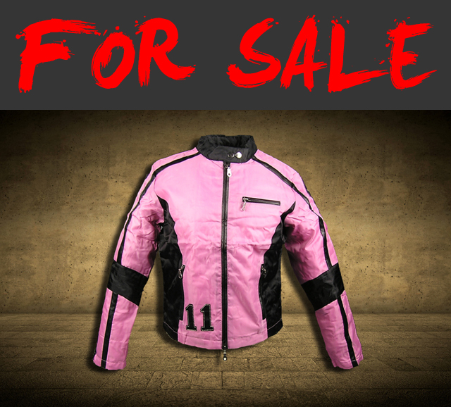DAMEN-GIRLS-JACKE-COLLEGEJACKE-RACING-STREET-80S-WEAR-L