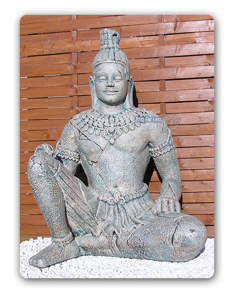 terrakotta armee krieger buddha statue figur garten