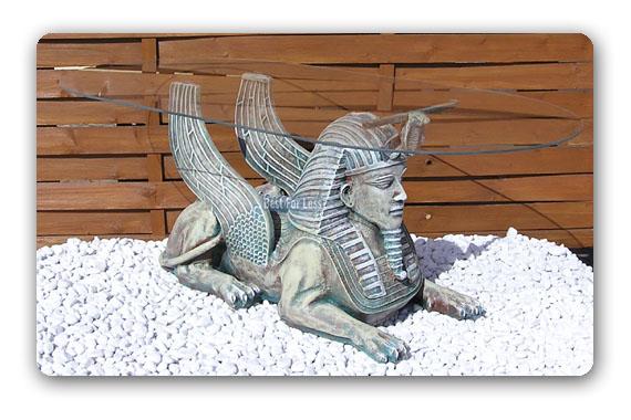 Artikelbeschreibung Agyptischer Tisch Sphinx