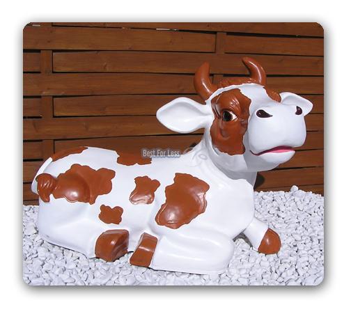 Lustige Deko Kuh Werbeaufsteller Milch Deko Figur